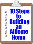 10 steps to building dome home
